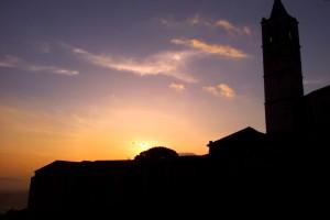 Il-tramonto-ad-Assisi